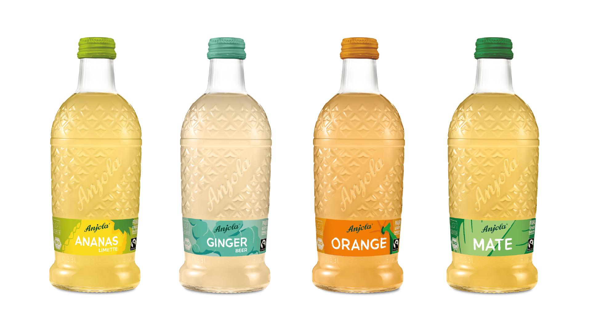 Anjola Packaging Design Relaunch