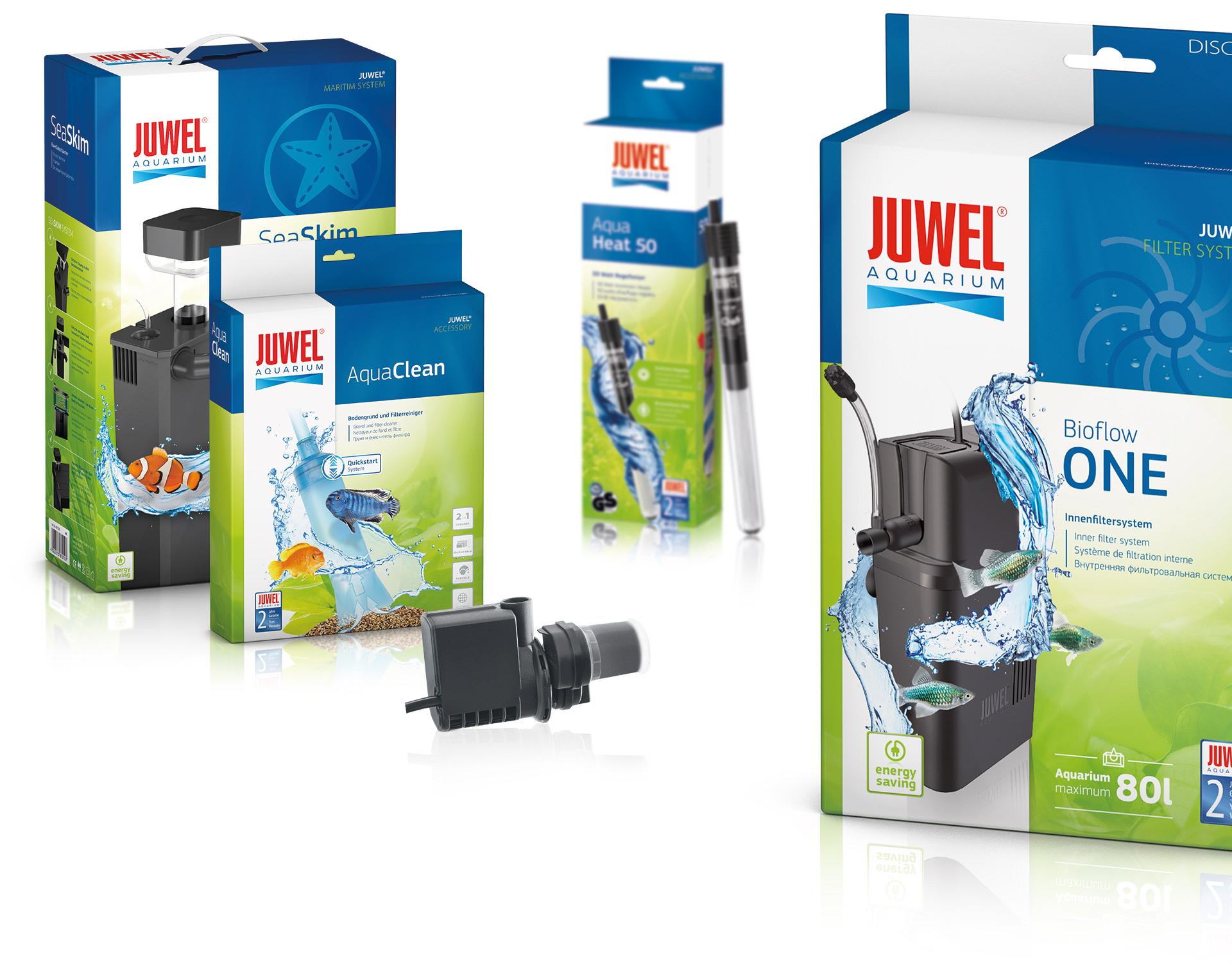 Packaging Design für Wasserfilter von Juwel Aquarium durch Redeleit und Junker