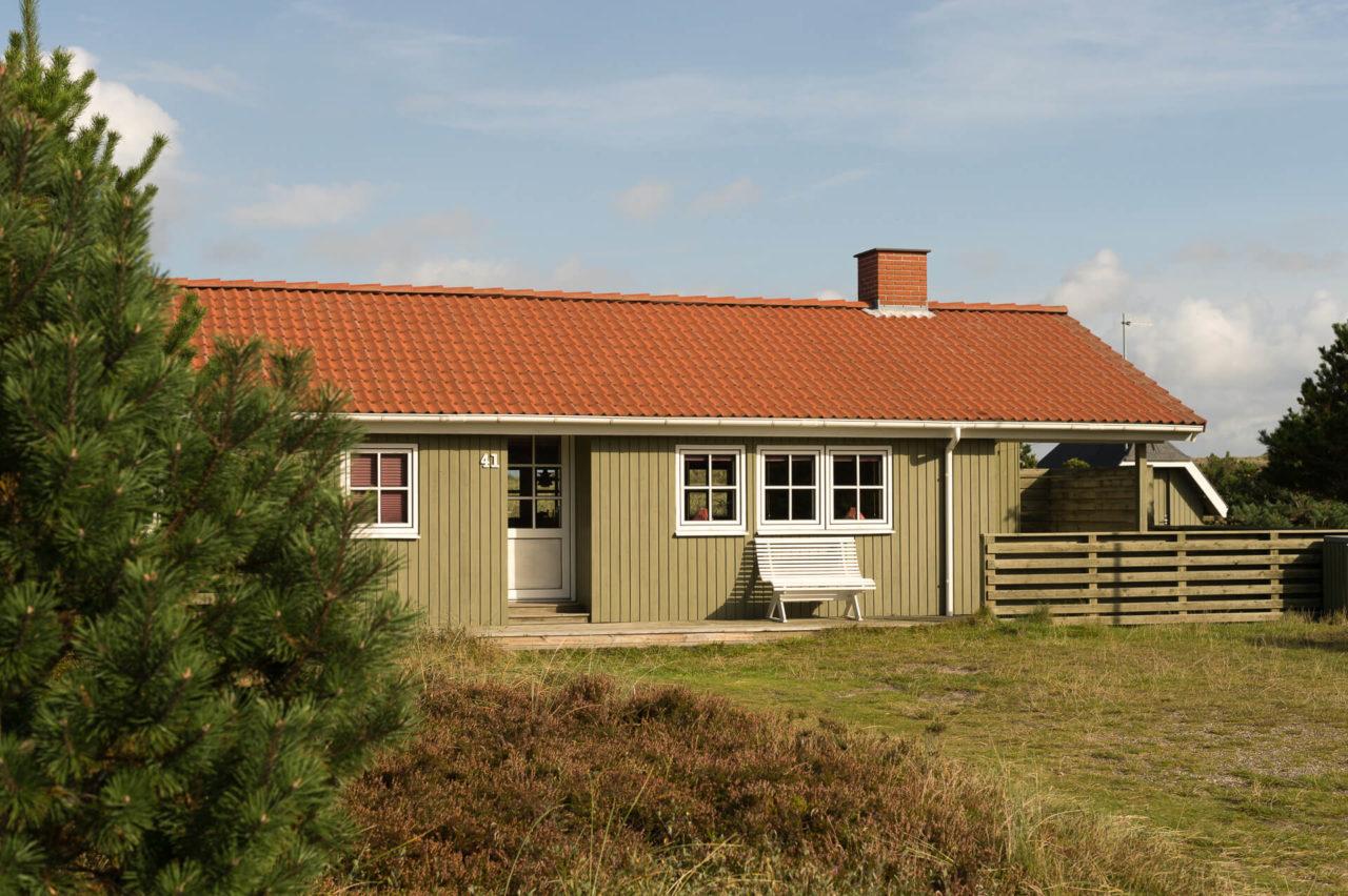 Foto von der Fotostory Redeleit und Junker Dänemark zeigt ein Ferienhaus