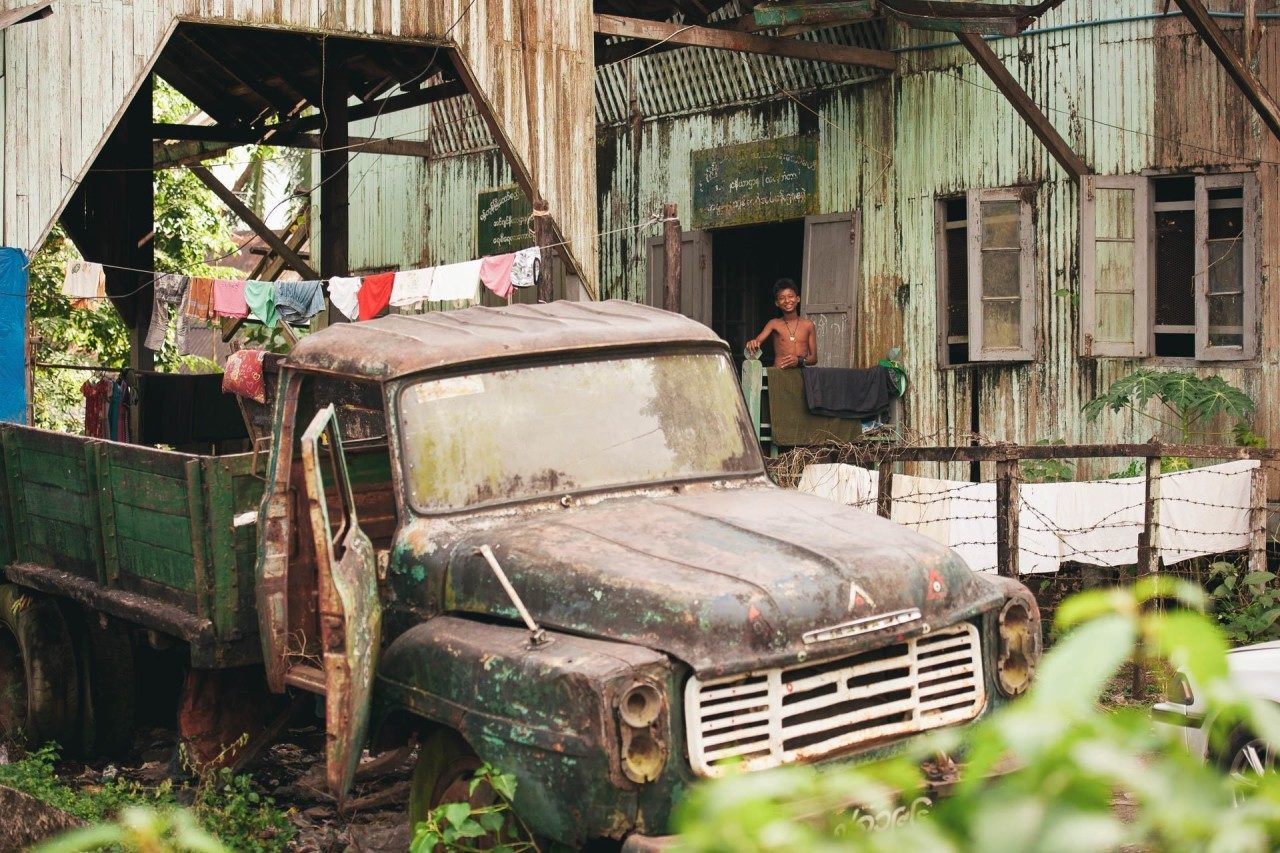 Mann Truck Myanmar Fotostory von Redeleit und Junker