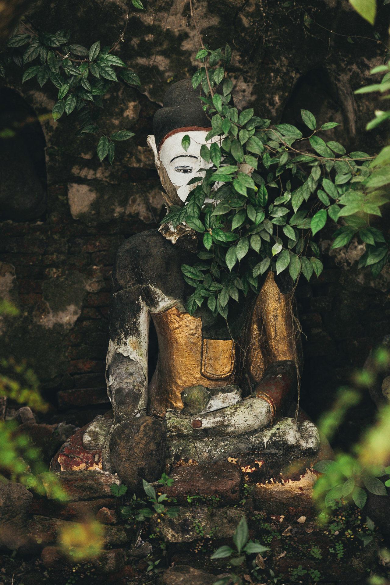 Buddha Wald Fotostory von Redeleit und Junker