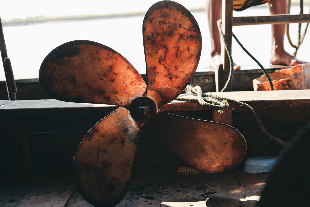 Bootsschraube Fotostory von Redeleit und Junker