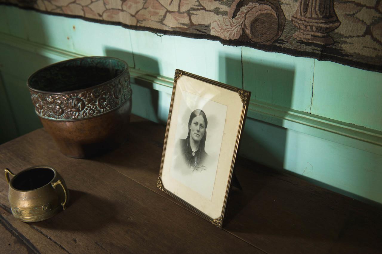 Fotostory von Redeleit und Junker - Altes Bild im Museum Skógafsafn in Island